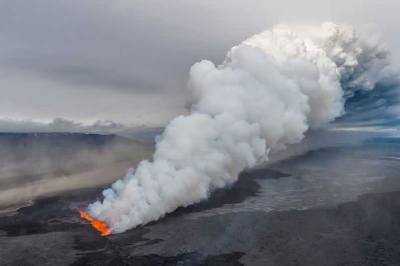 the icelandic volcano could erupt