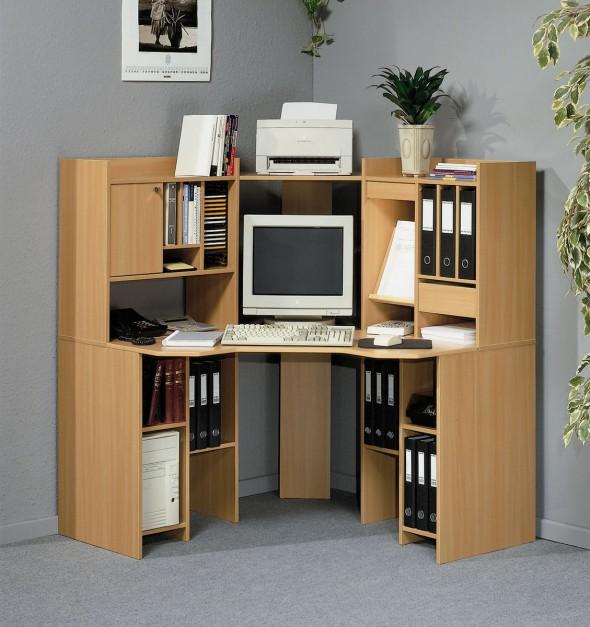 شكل طاولة كمبيوتر زاوية