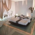 اجمل غرف نوم ناعمه رومانسية - 213812
