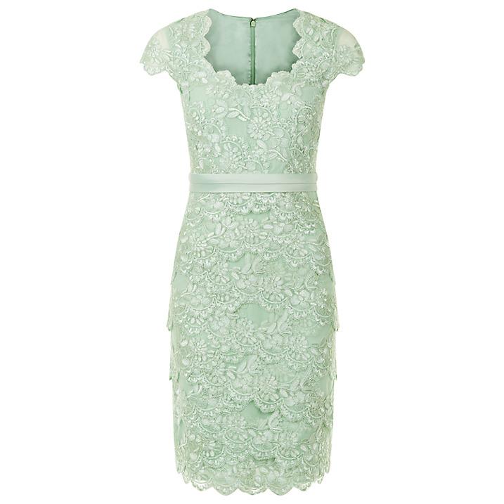 6984cf771 فستان أخضر فاتح من جاكيس فيرت jacques vert