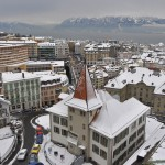 Lausanne in winter - 220820