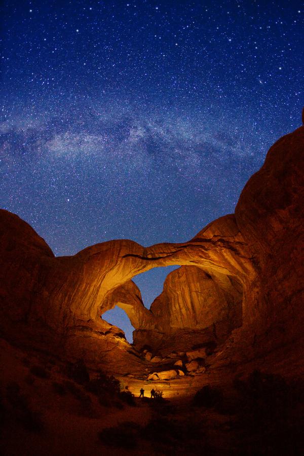اجمل الصور الفوتوغرافية المسائية Light-painting-on-th