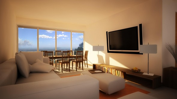 اجمل غرف معيشة صغيرة بسيطة