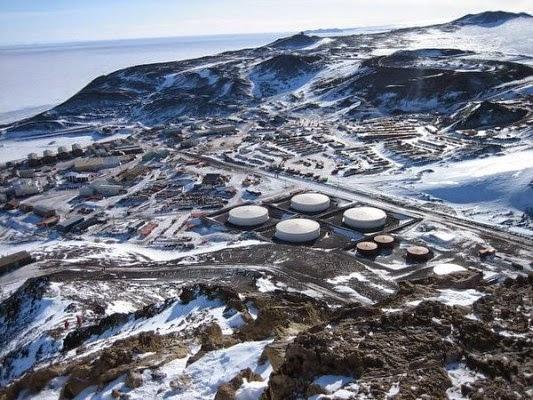 أفضل الأماكن النائية في العالم McMurdo-station