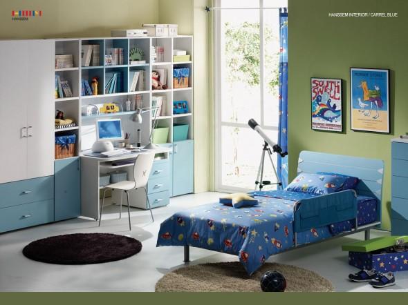 ديكور غرف اطفال اولاد وبنات ولا اروع | المرسال