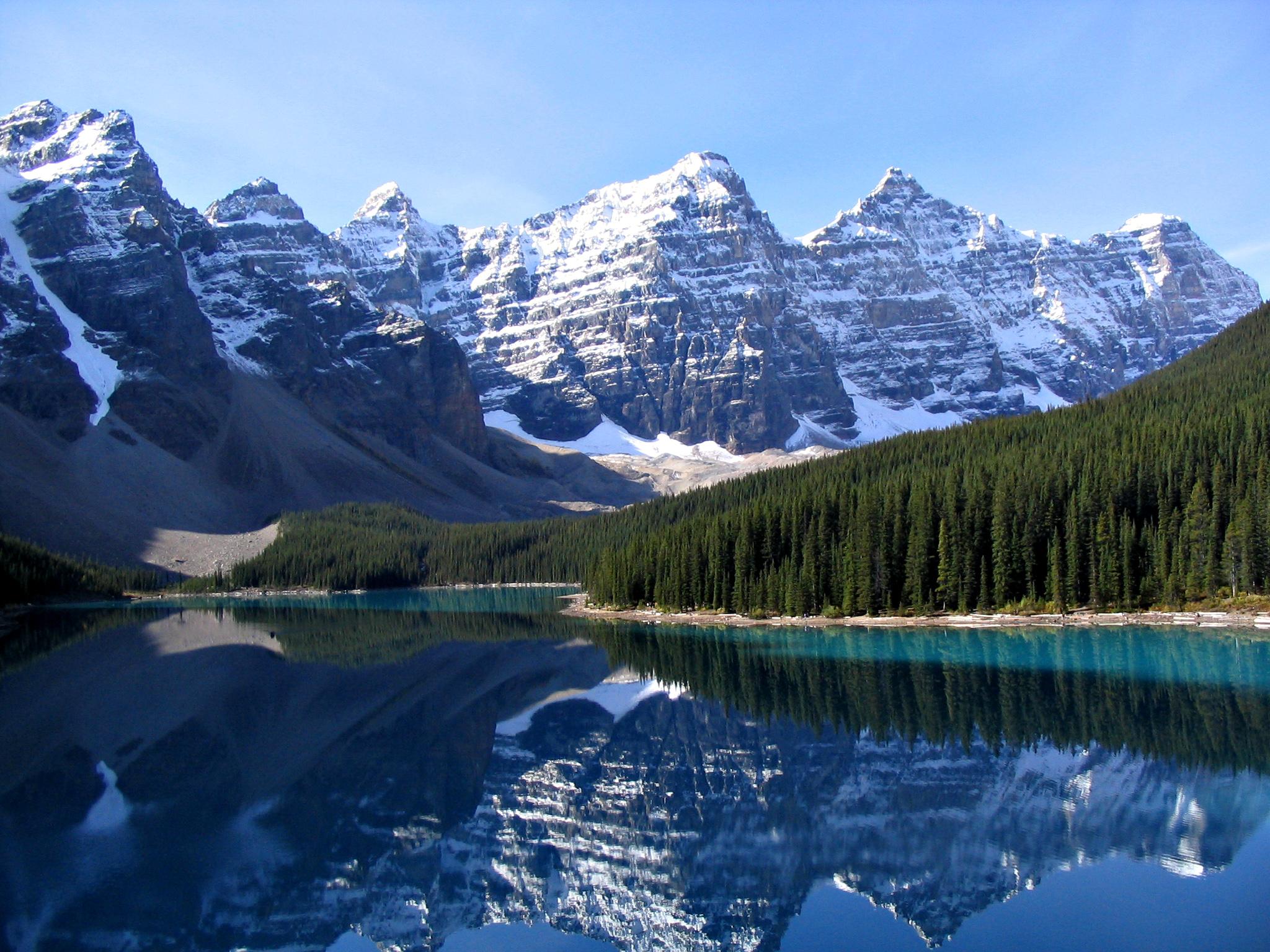 جبال روكي الرائعة