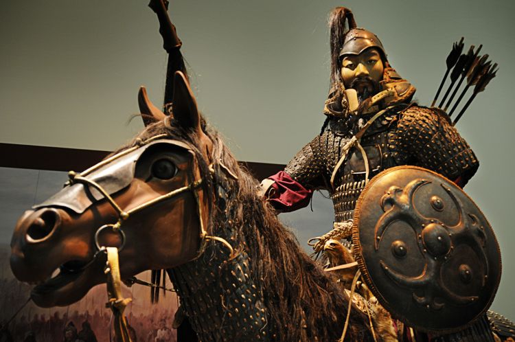 Most Mongol shock cavalry forces
