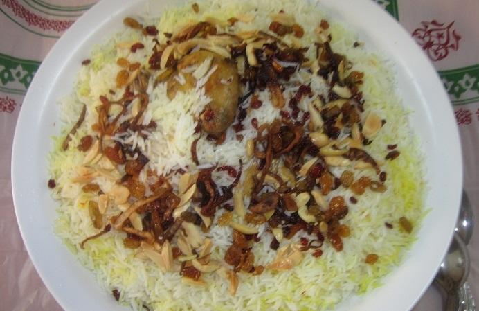 طريقة ارز بشاور المرسال