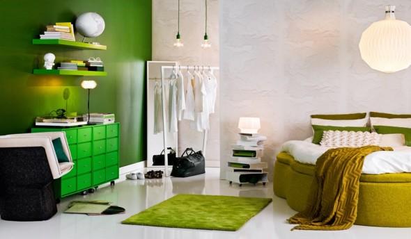 اضاءة ديكور غرف النوم