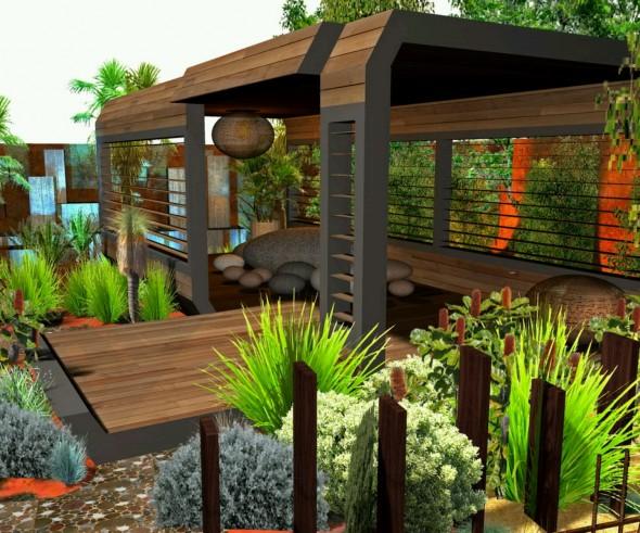 حديقة للمنزل مذهلة التصميم