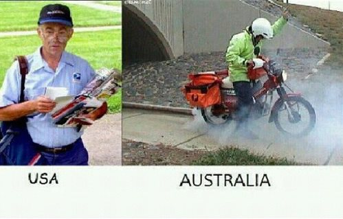 The Difference Between Australia and America