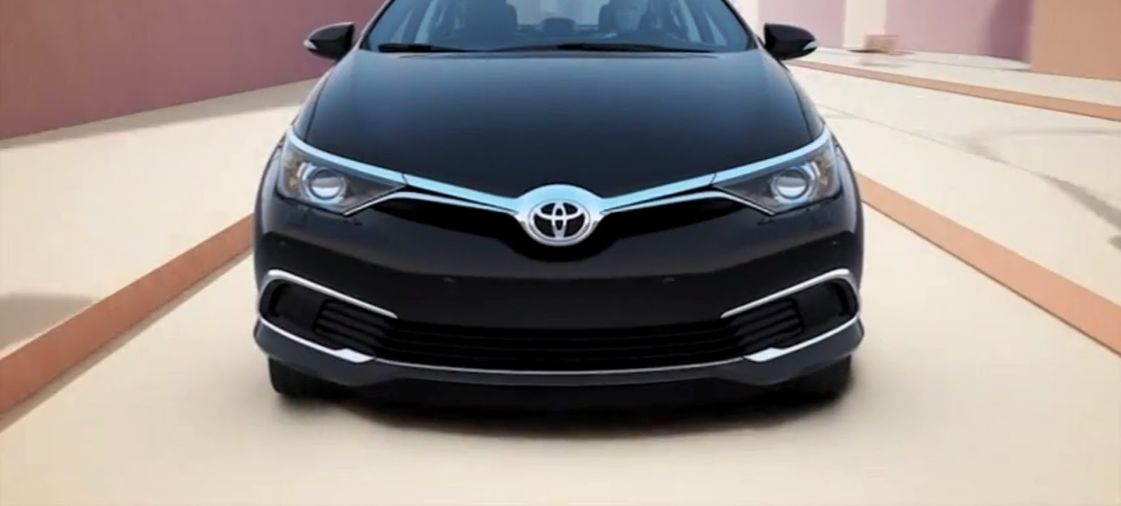 السيارة الجديدة تويوتا كورولا 2016