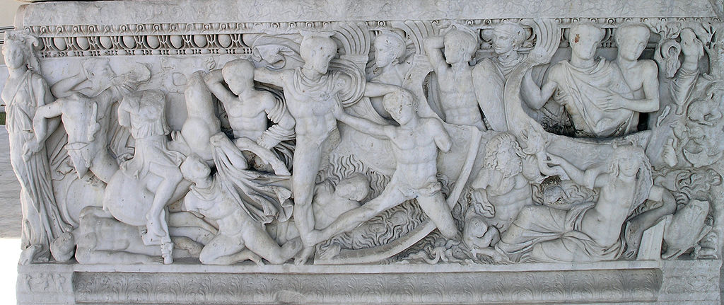 اسطورة حصان طروادا Troy-battle.jpg