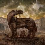 قصة اسطورة حصان طروادة