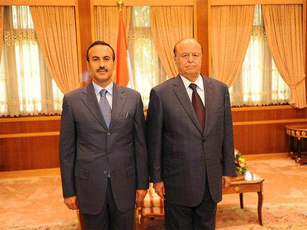 إقالة احمد علي صالح من منصبه كسفير