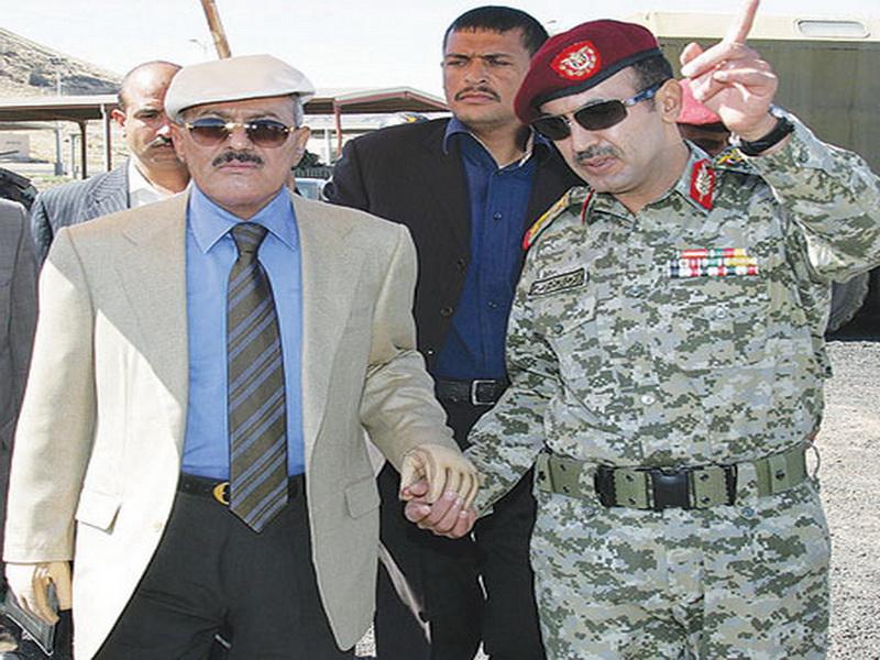 أحمد علي صالح ووالده