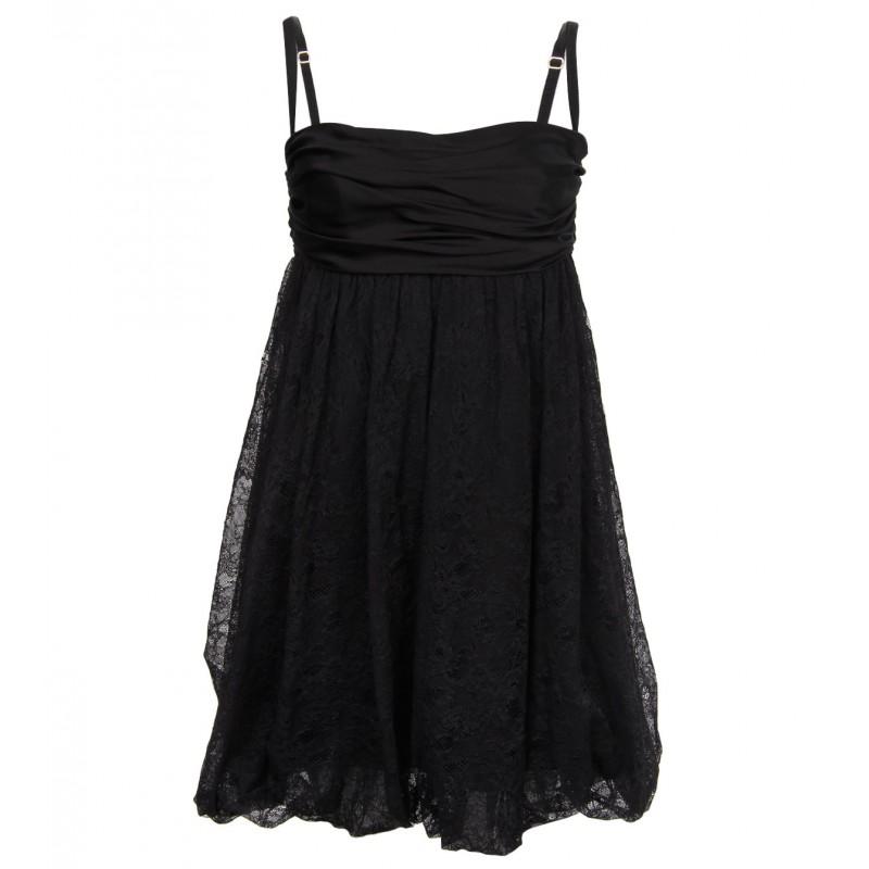 فستان أسود من دولتشي أند جابانا