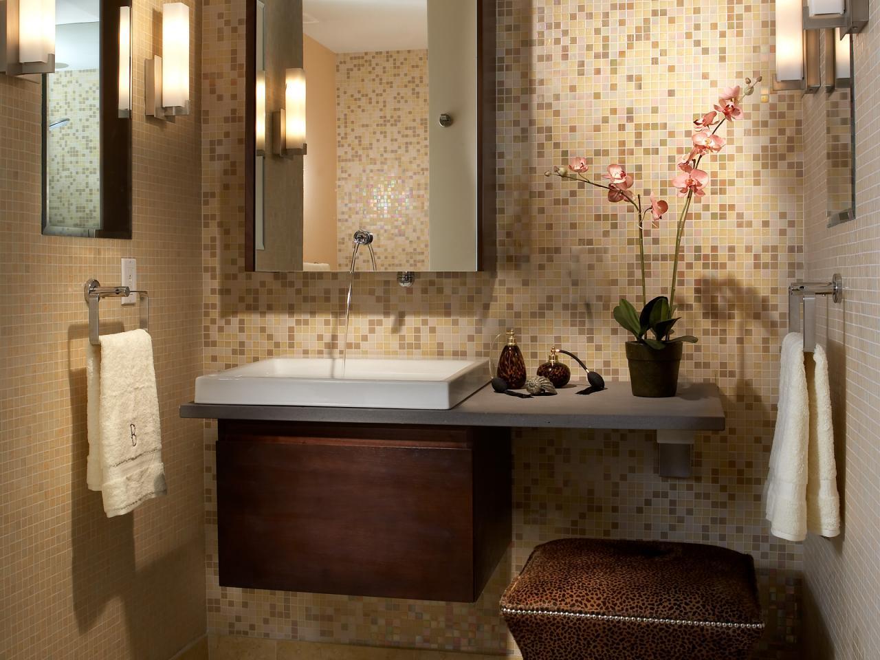 كيفية تصميم حمامات صغيرة المرسال