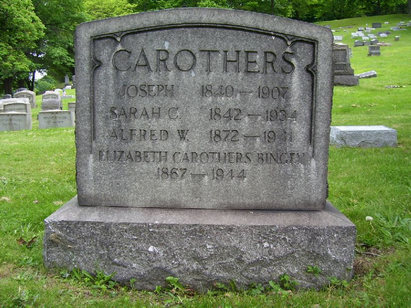 death of Carothers Joseph