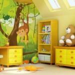 استخدم ورق الحائط لإضافة طابع خاص لغرفة طفلك