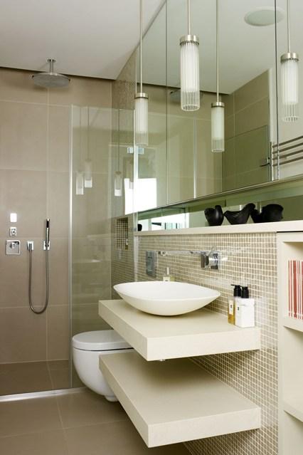 كيفية تصميم حمامات صغيرة