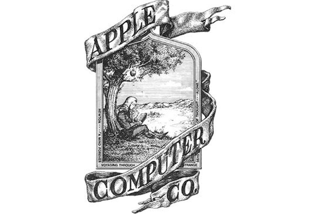 شعار شركة ابل Apple القديم