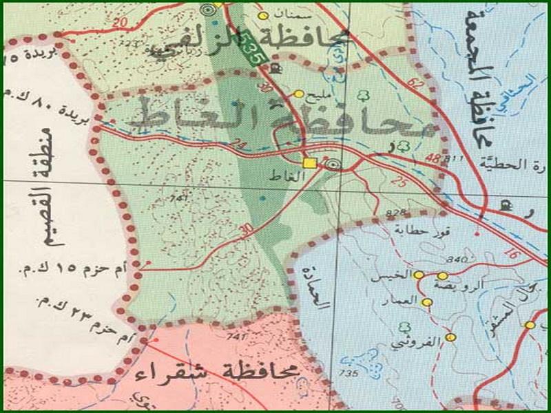 محافظة الغاط تاريخ واثار مقالات