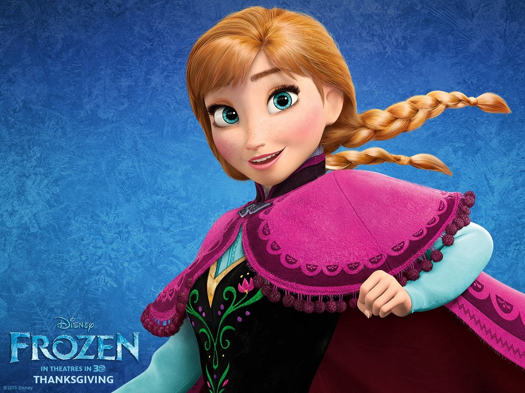 """حصريًا تقرير عن النسخة العربية لفيلم """"ملڪة الثلج - Frozen"""" و تحمْيل النسخة المُدبلج . Anna-frozen.jpg"""