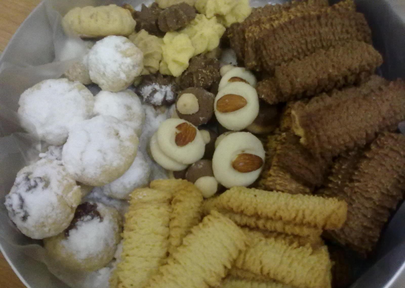 البسكويت والكحك حلويات العيد من وصفات حجازيه