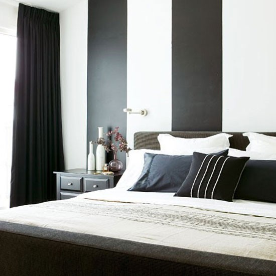 Black And White Pictures For Bedroom Wall Decor For Small Bedroom Bedroom Sitting Room Design Ideas Bedroom Carpet Design Ideas: افكار غرف نوم مميزة بالابيض والاسود