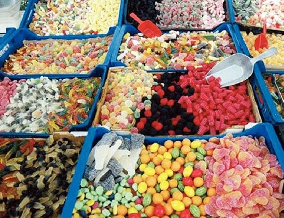 حلويات كاندي بالوان رائعة واشكال مختلفة