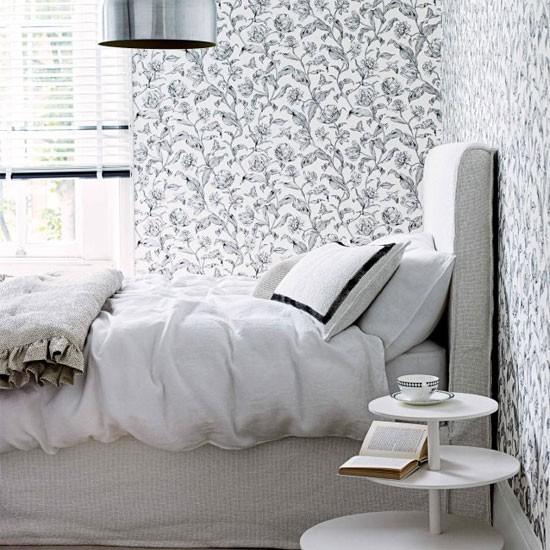 افكار غرف نوم مميزة بالابيض والاسود | المرسال