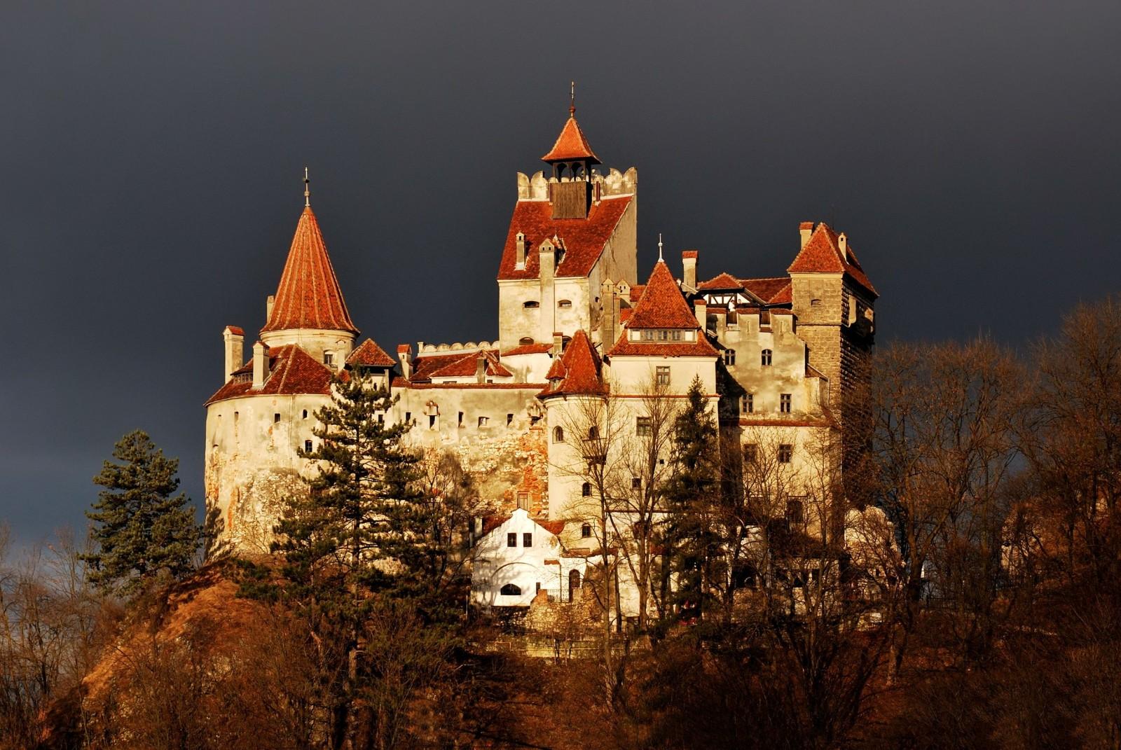 Dracula's castle.