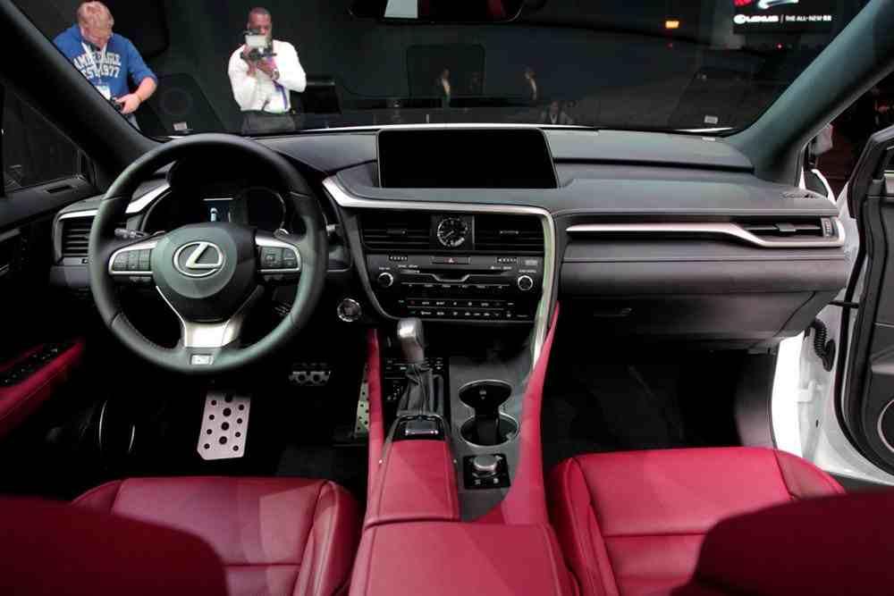 Lexus 350 Rx 2017 >> لكزس RX 2016 الجديدة كليا | المرسال