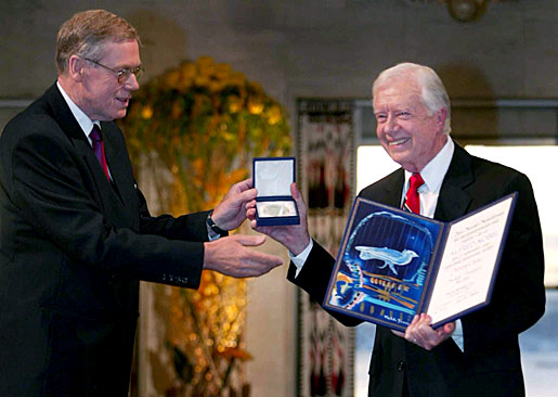 Jimmy Carter Nobel Peace Prize Great tribute