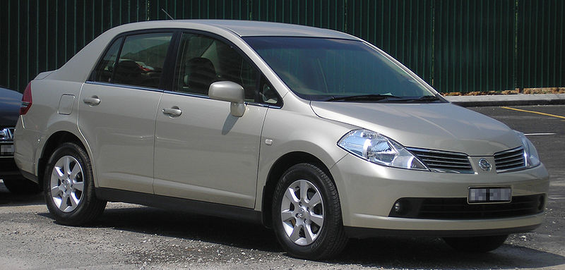 Nissan Tiida 2007 Asia المرسال