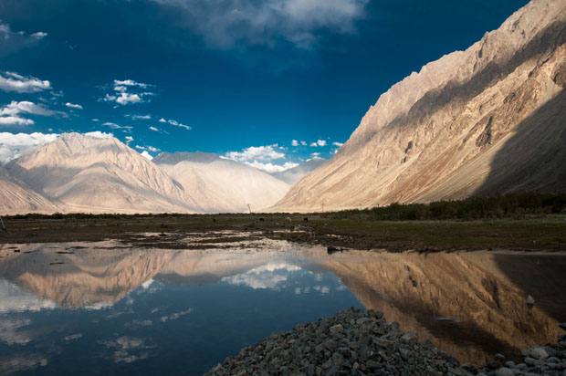 Nubra valley hunder, India