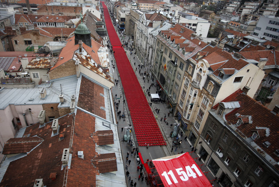 حرب البوسنة والهرسك On-April-5th-Sarajevo-the-capital-of-Bosnia-and-Herzegovina-marked-20th-anniversary-of-the-beginning-of-the-siege-of-the-city