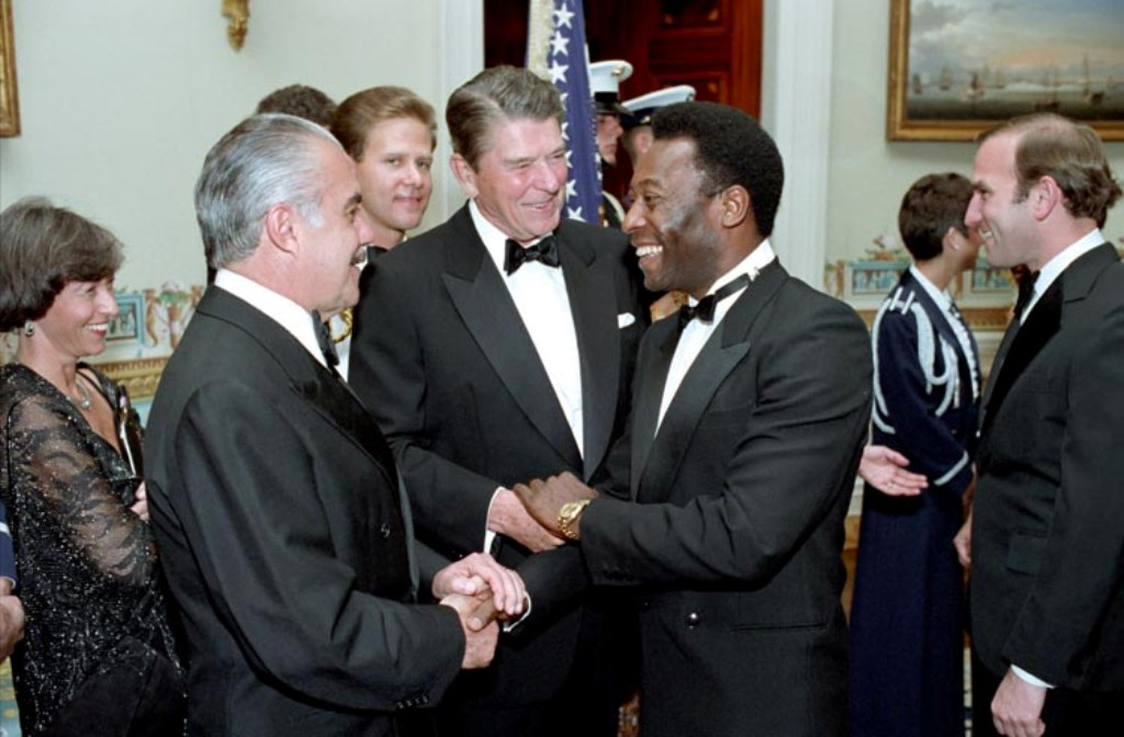 Pelé at the White House