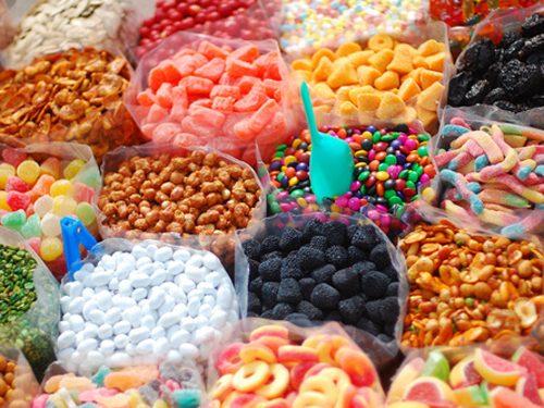 الوان حلويات كاندي اللذيذة