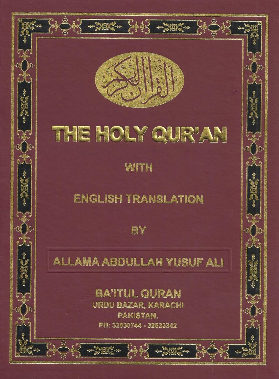 holy quran english translation by yusuf ali pdf