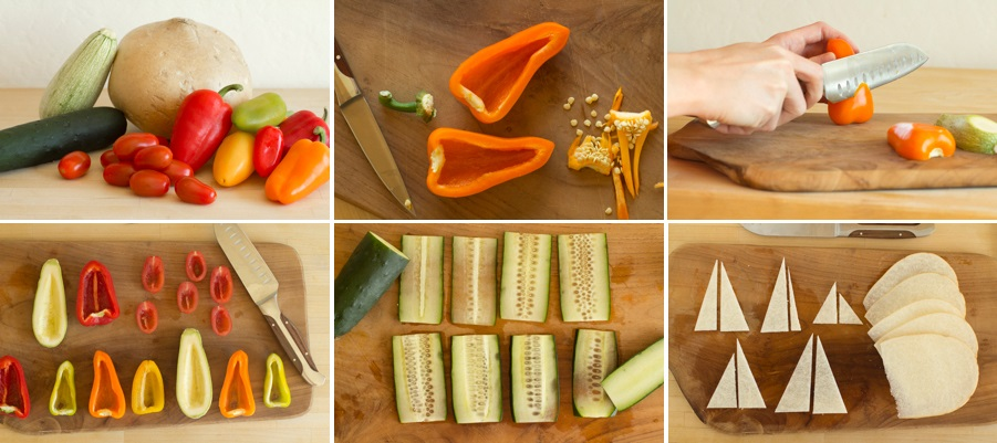 Vegetable Art and Food