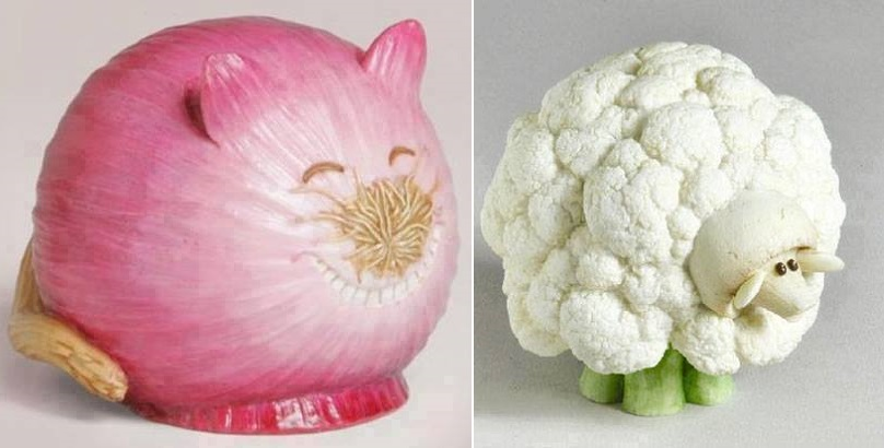 Vegetable andFood art
