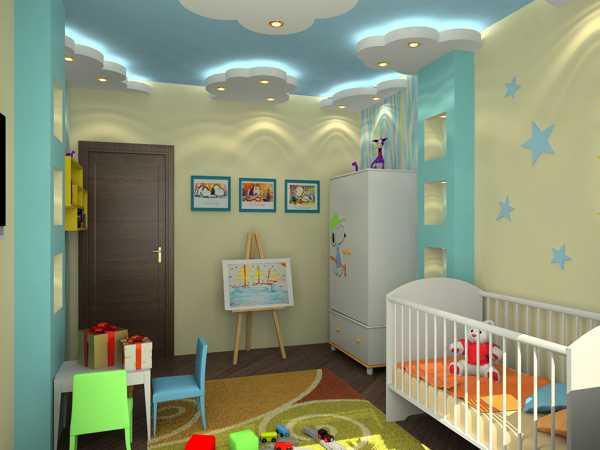 اضاءات جميلة لاسقف غرف الاطفال | المرسال