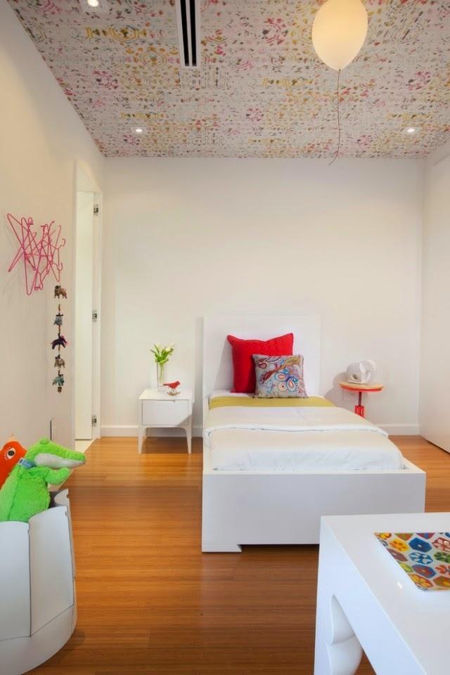 ديكورات اسقف غرف الاطفال مميزة | المرسال