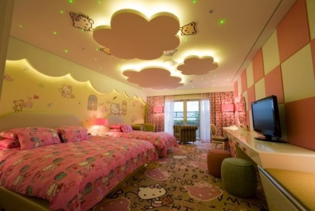 تصاميم مبهرة لاسقف غرف الاطفال | المرسال