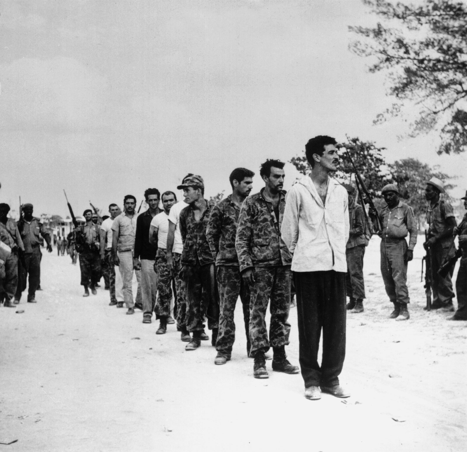 the history of the bay of pigs invasion A brief article about the invasion of cuba at bay of pigs, with links to additional  related information.
