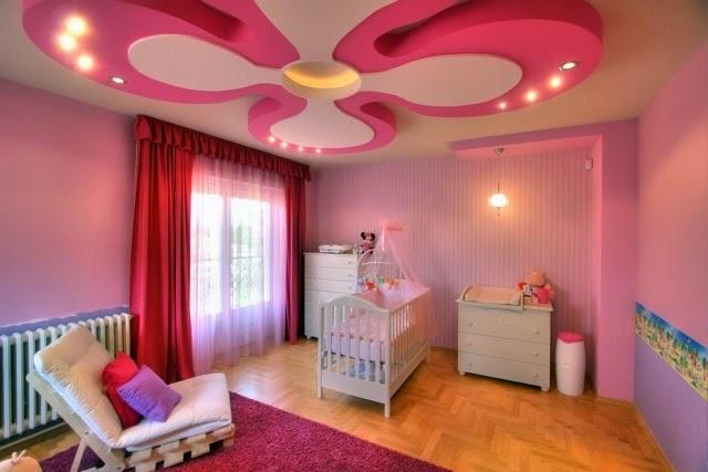 موديلات جديدة لتزيين اسقف غرف الاطفال | المرسال