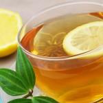 فوائد الشاي الاخضر بالليمون