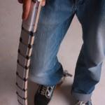 إسكوتر مبتكر بإمكانه التحول للحزام